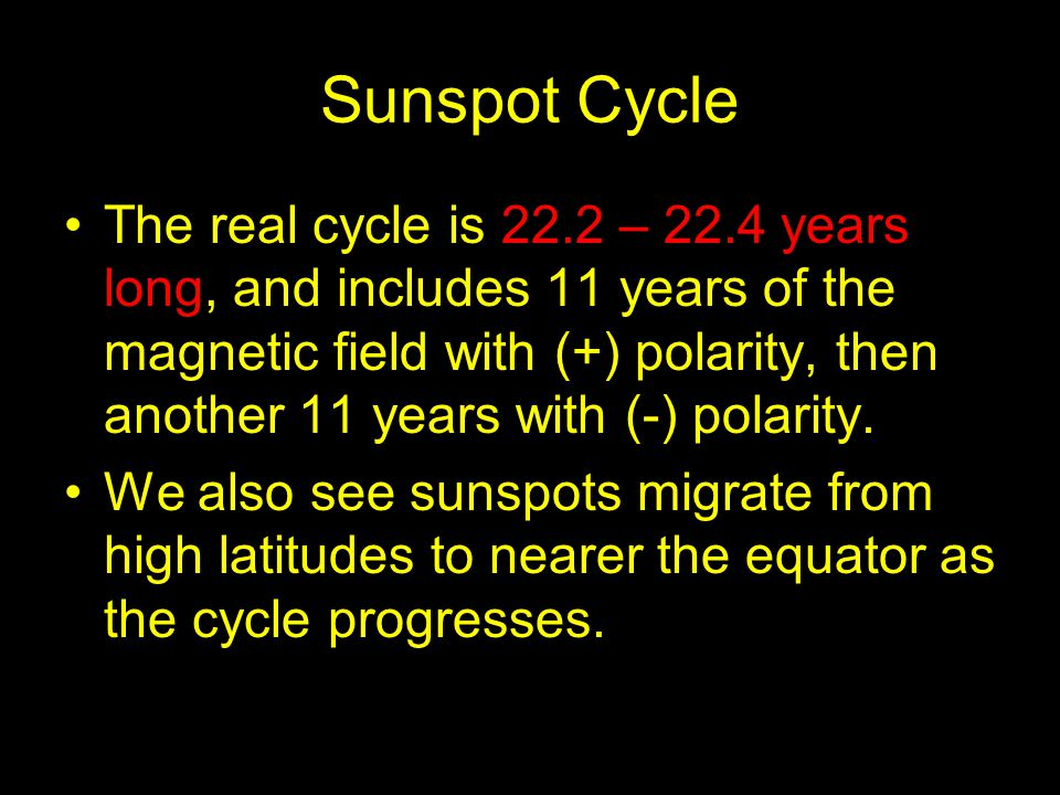 Sunspot Cycle