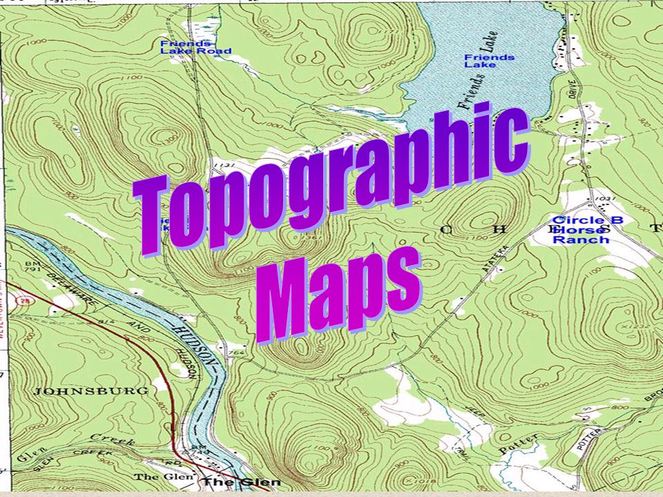 Topographic Maps. - ppt download