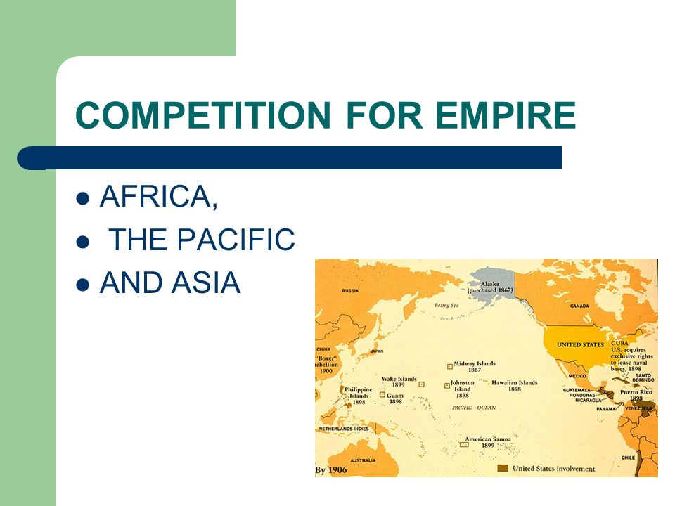 COMPETITION FOR EMPIRE