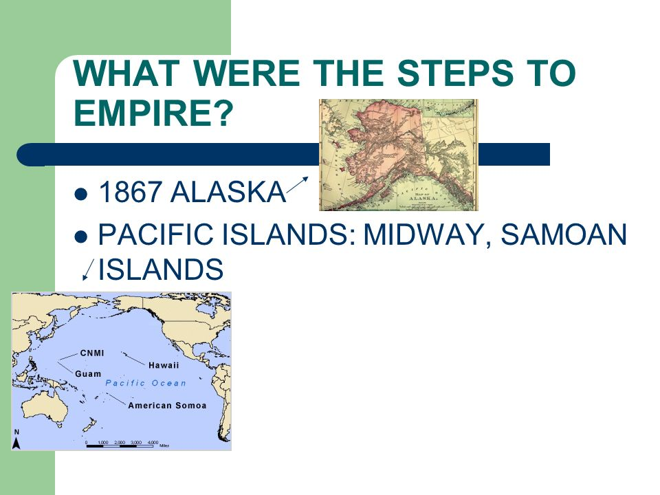 WHAT WERE THE STEPS TO EMPIRE