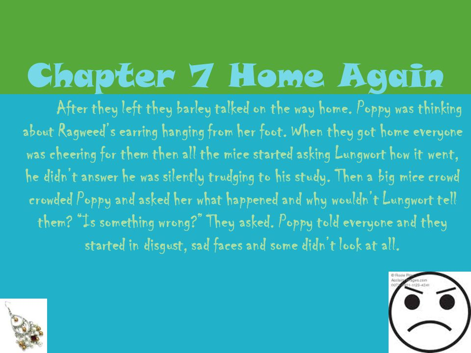 Chapter 7 Home Again