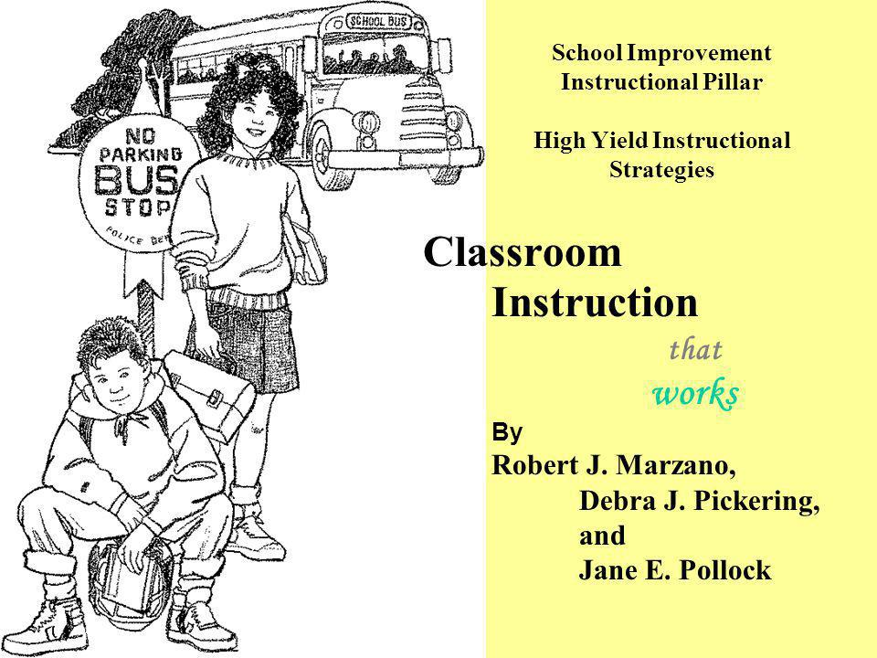 Classroom Instruction that works By