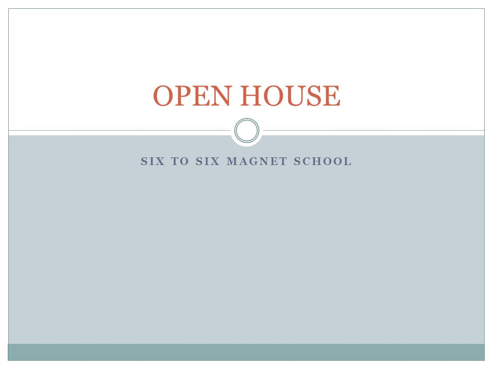Six to Six Magnet School