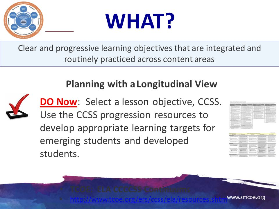 Planning with a Longitudinal View