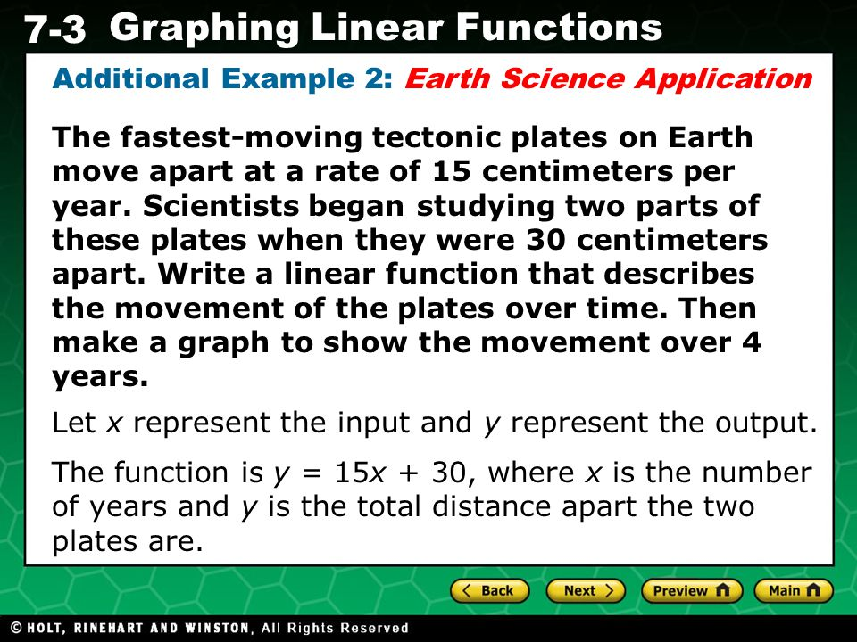 Additional Example 2: Earth Science Application