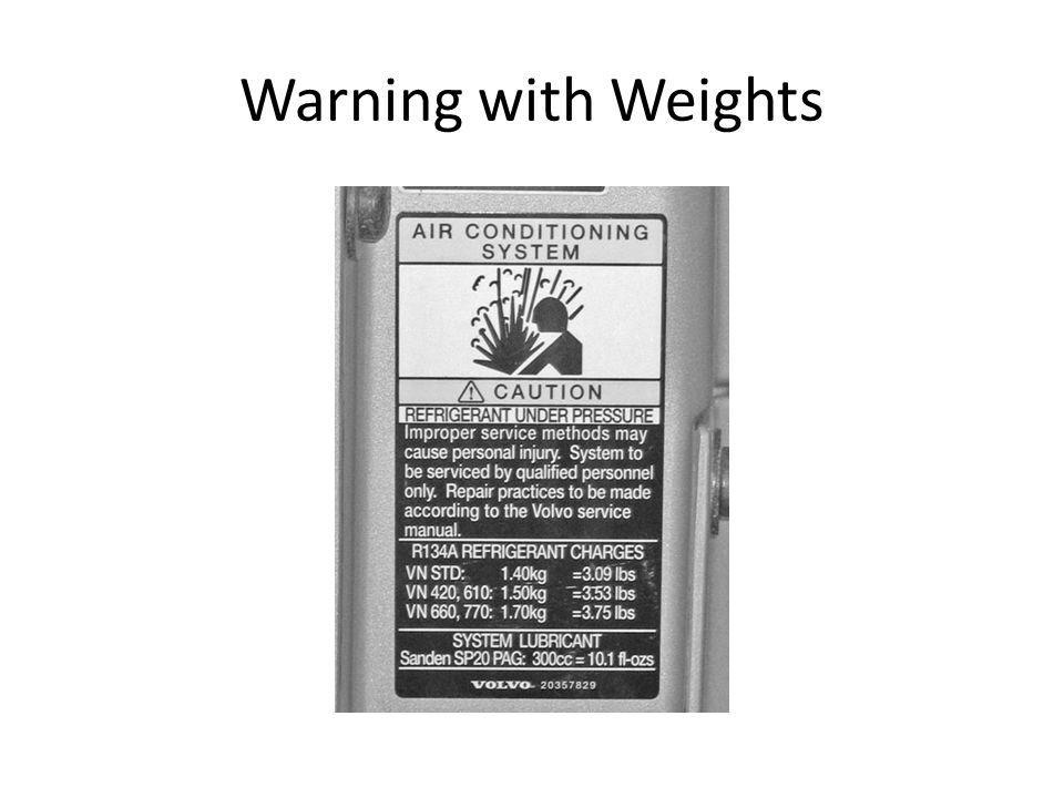 Warning with Weights