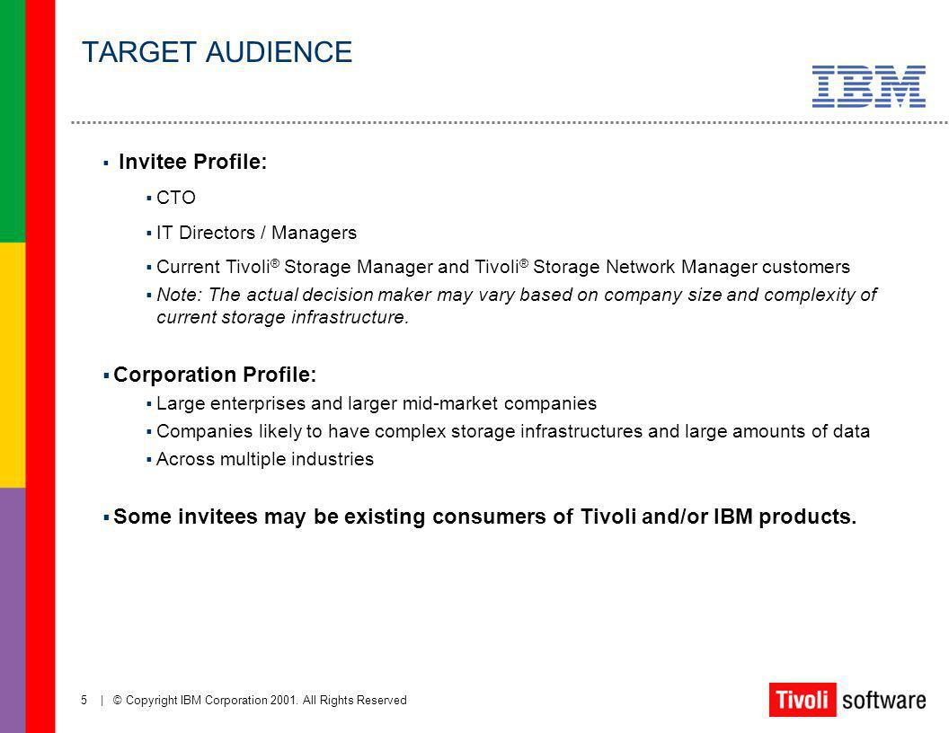 TARGET AUDIENCE Corporation Profile: