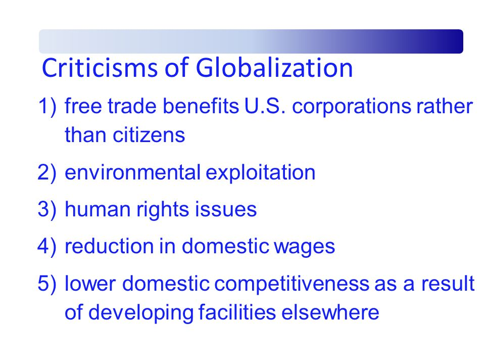 International Economy and Glob...