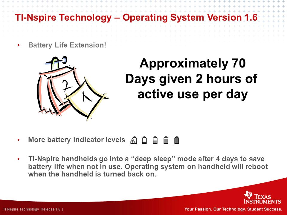 Approximately 70 Days given 2 hours of active use per day