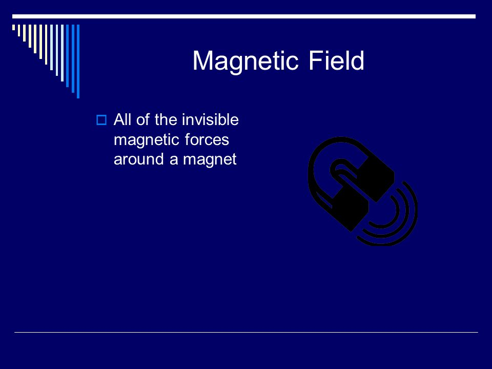 Magnetic Field All of the invisible magnetic forces around a magnet