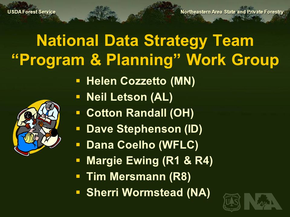 National Data Strategy Team Program & Planning Work Group