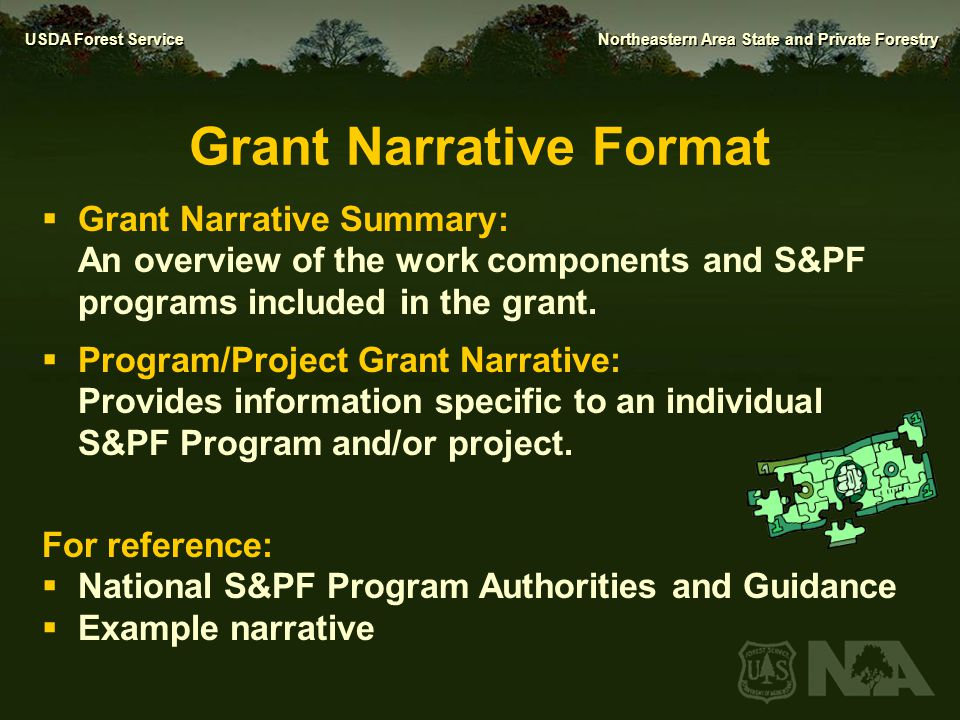 Grant Narrative Format