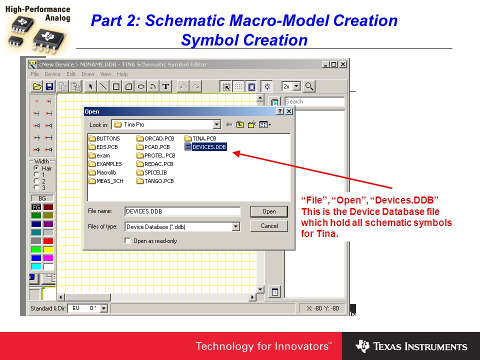 How to Build Macro-Models in Tina SPICE - ppt video online download