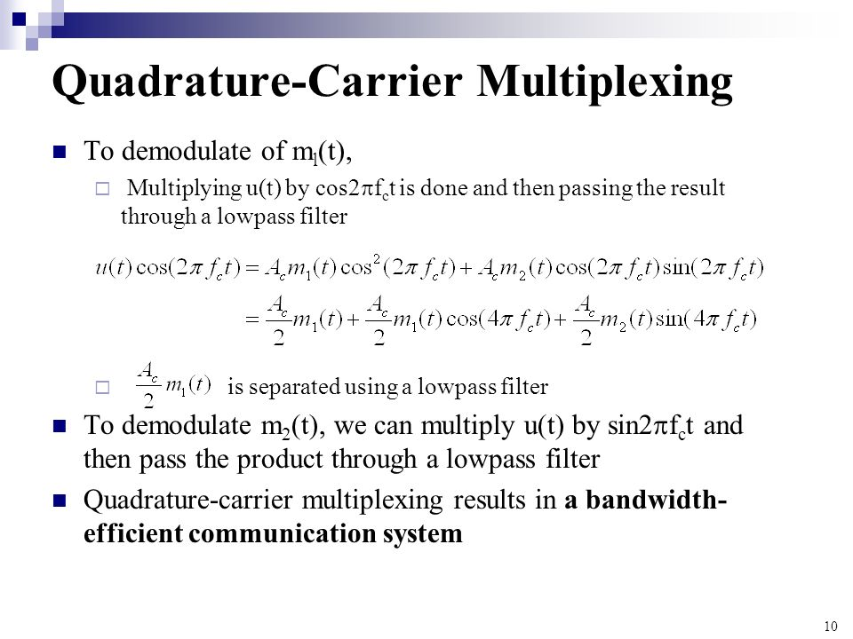 Quadrature-Carrier Multiplexing