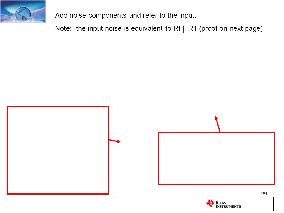 Add noise components and refer to the input.