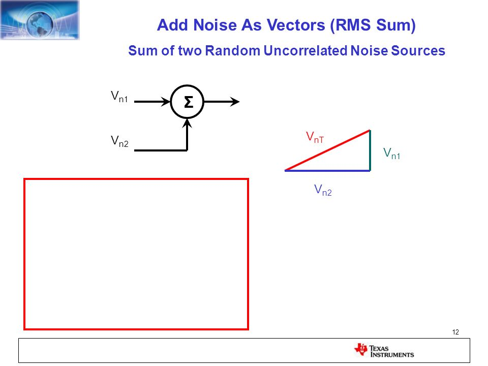 Add Noise As Vectors (RMS Sum)