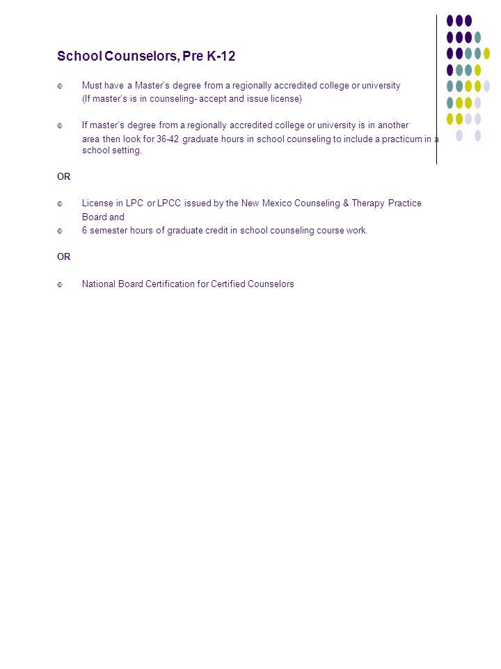 INFORMAL LICENSURE INFORMATION - ppt download