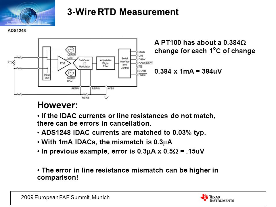3-Wire RTD Measurement However: