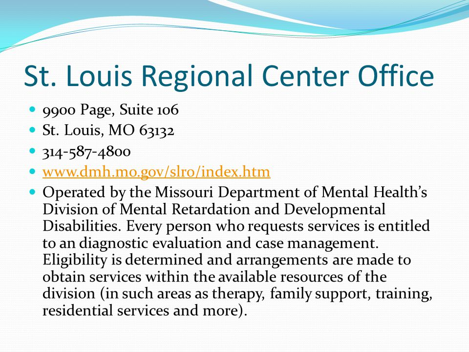 St. Louis Regional Center Office