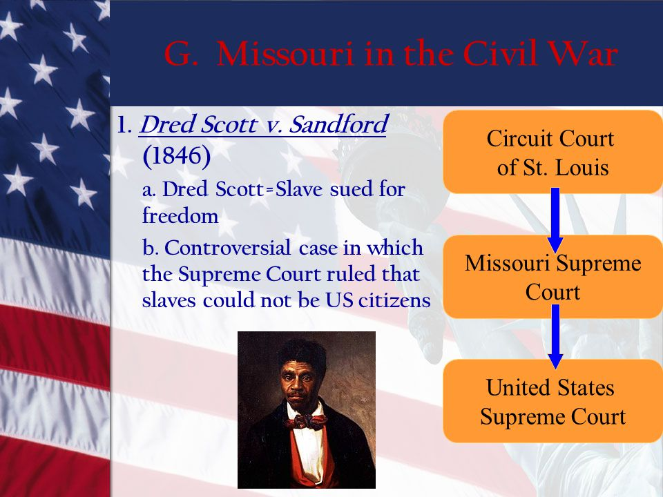 G. Missouri in the Civil War