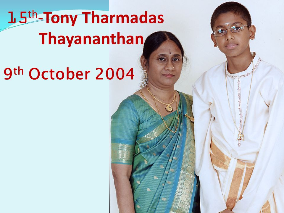 15th-Tony Tharmadas Thayananthan