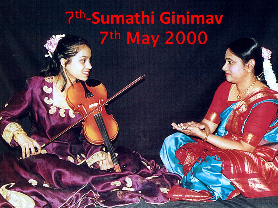7th-Sumathi Ginimav 7th May 2000