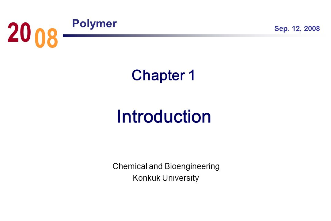 Chemical and Bioengineering