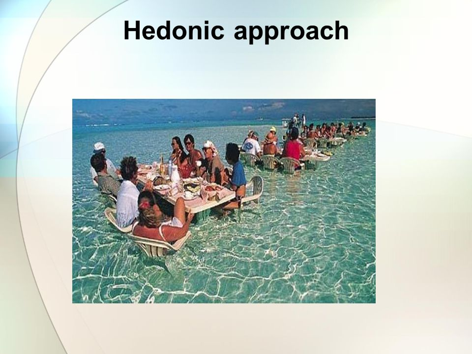 Hedonic approach
