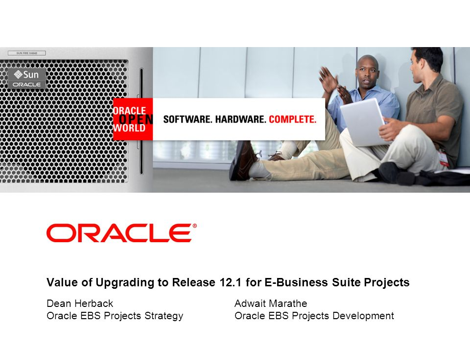 Value of Upgrading to Release 12.1 for E-Business Suite Projects