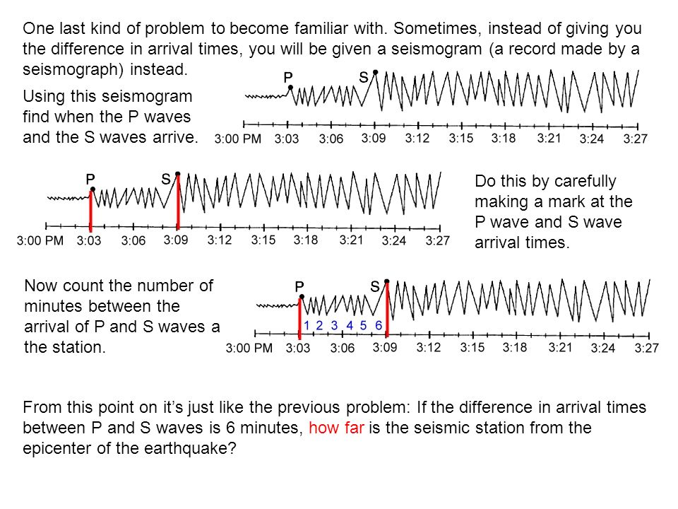 How To Use The Earthquake Travel Time Graph Page Ppt Video Online. Worksheet. Seismogram Worksheet At Mspartners.co