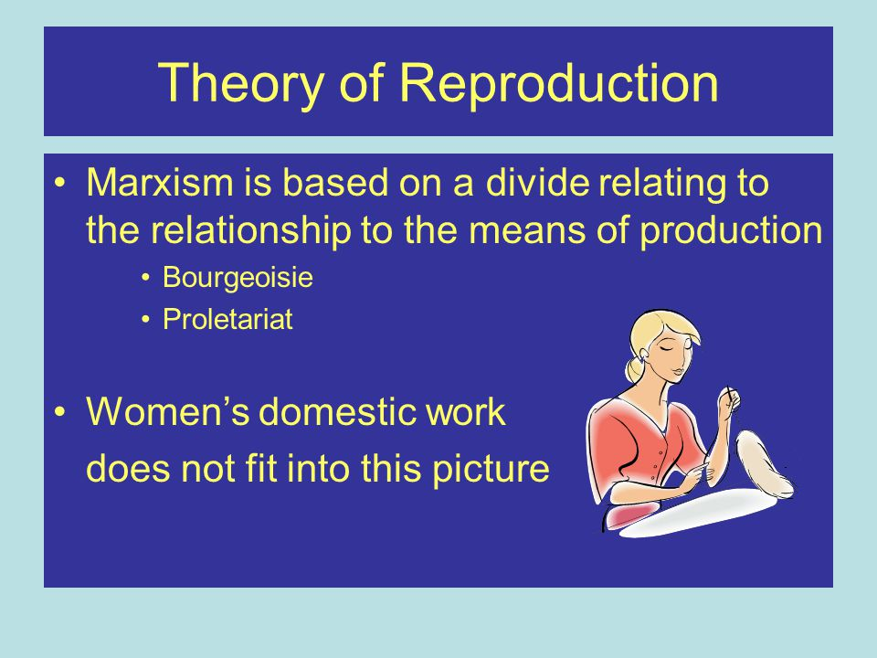 Theory of Reproduction