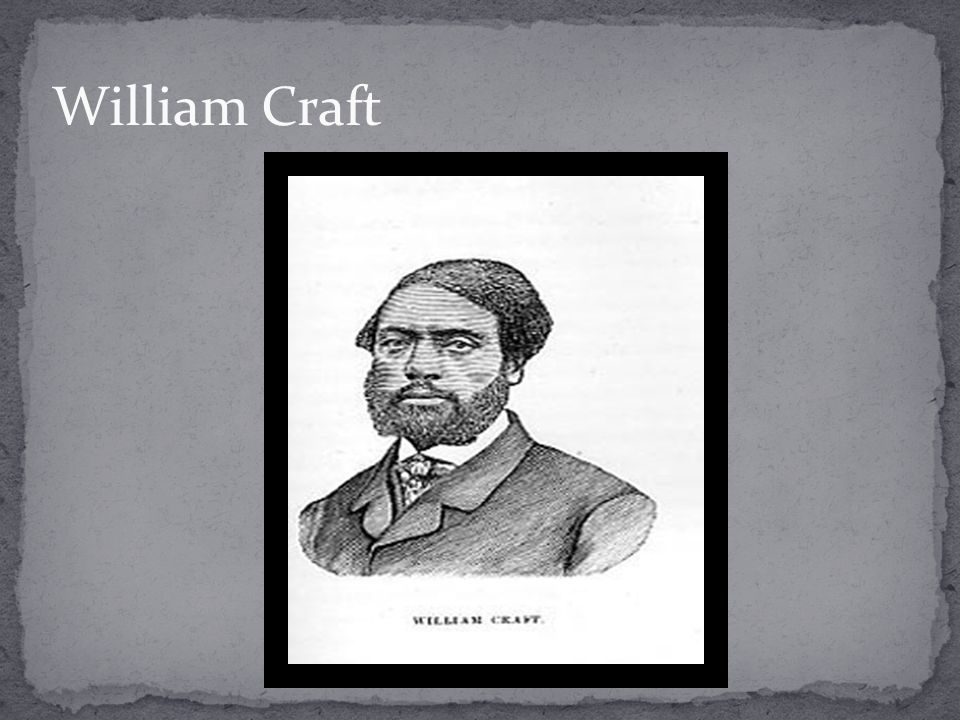 William Craft