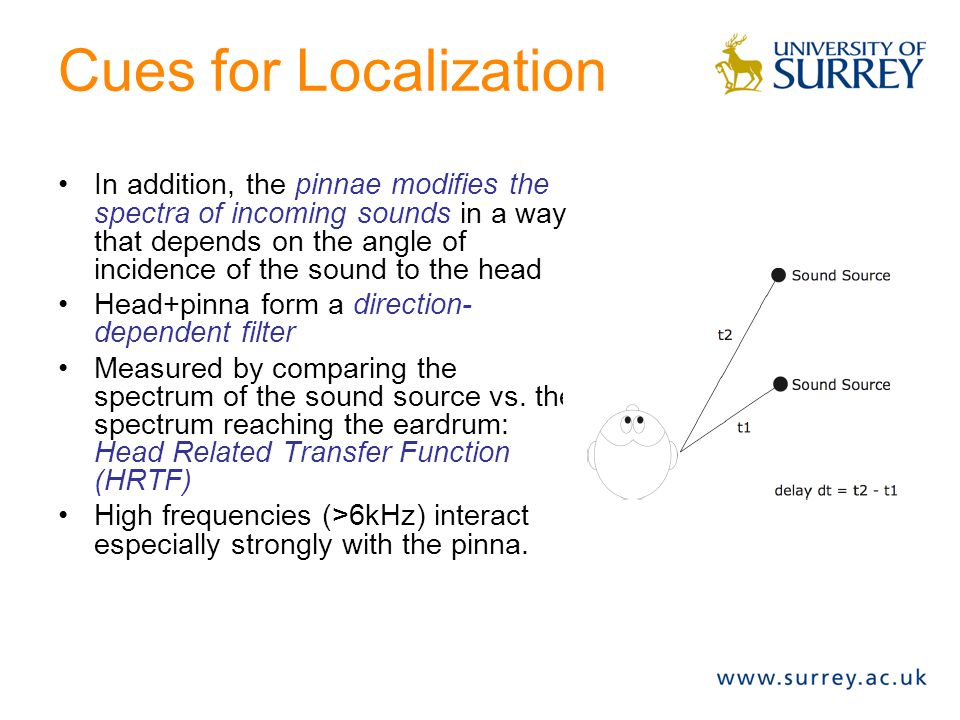 Cues for Localization