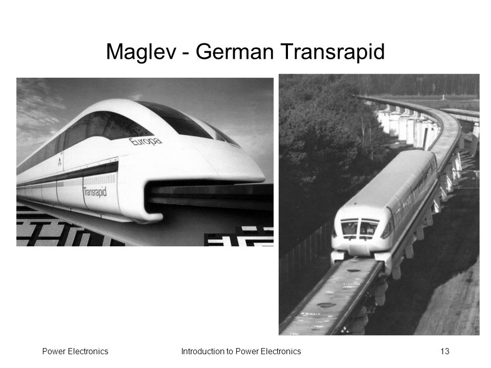 Maglev - German Transrapid