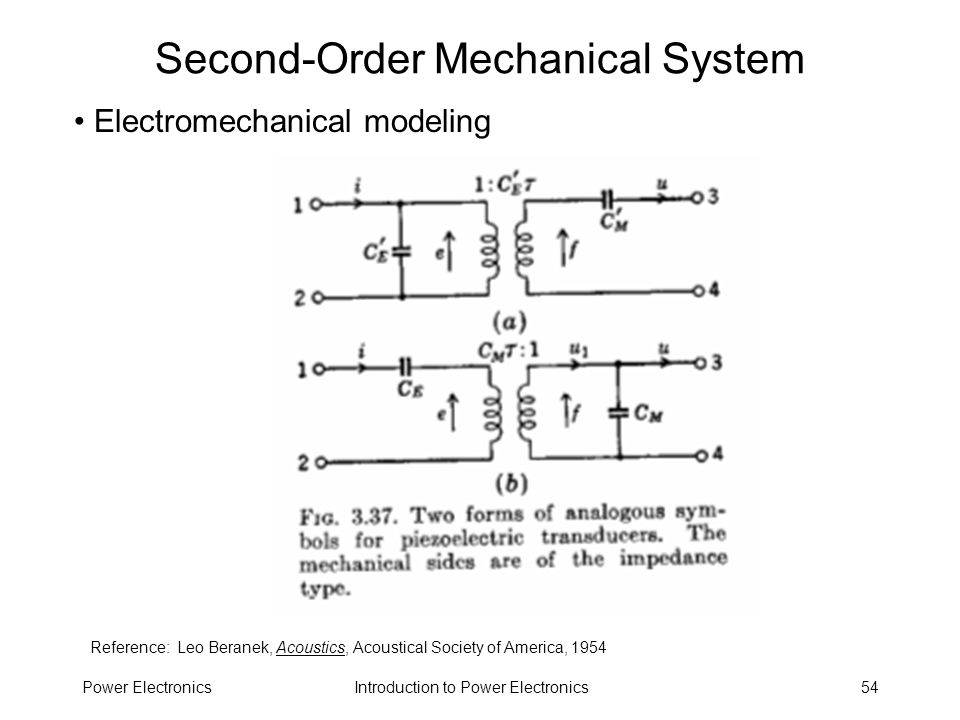 Second-Order Mechanical System