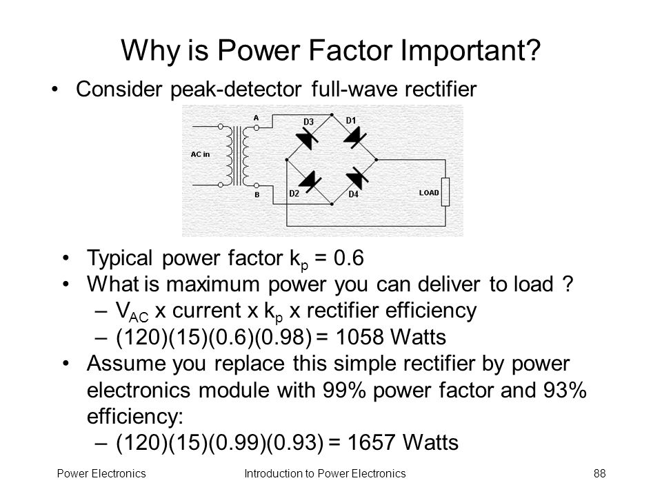 Why is Power Factor Important