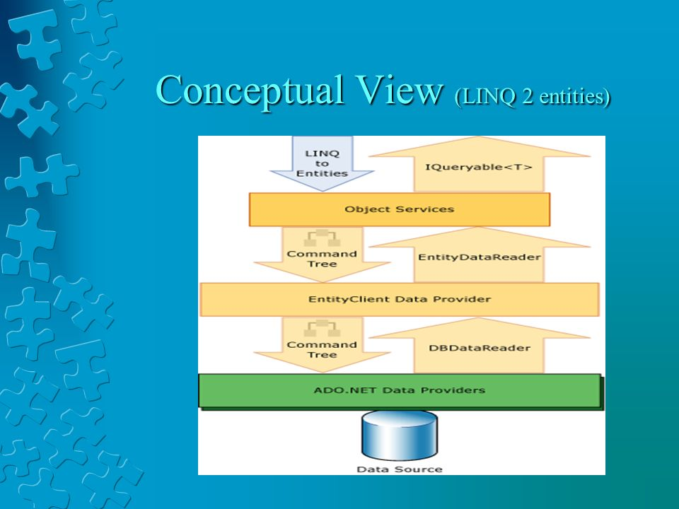 Conceptual View (LINQ 2 entities)