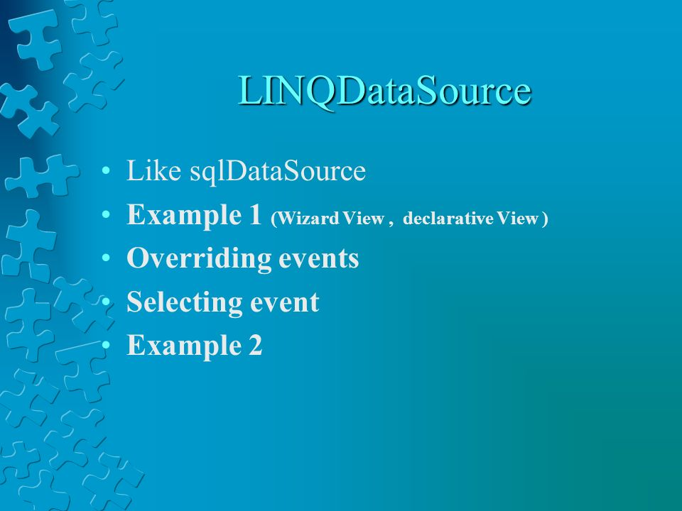 LINQDataSource Like sqlDataSource