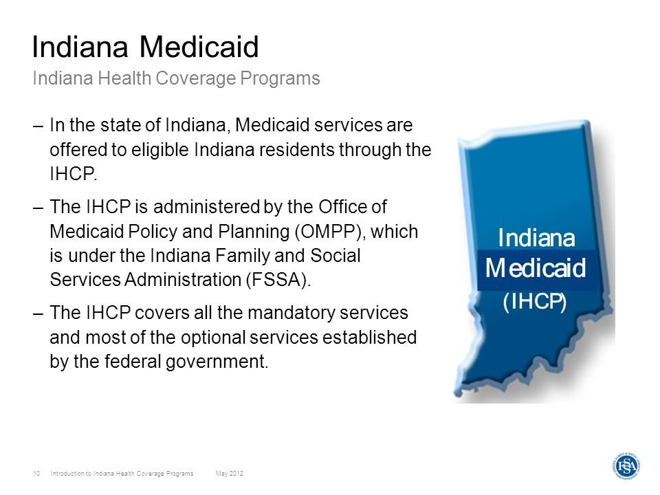 Indiana Medicaid Indiana Health Coverage Programs
