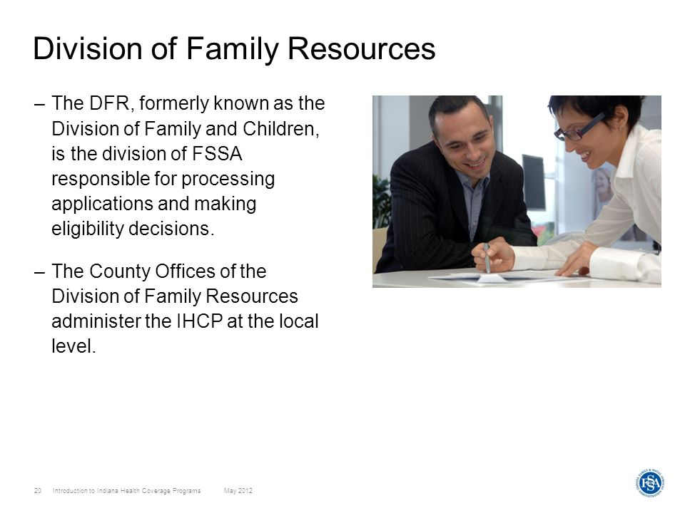 Division of Family Resources