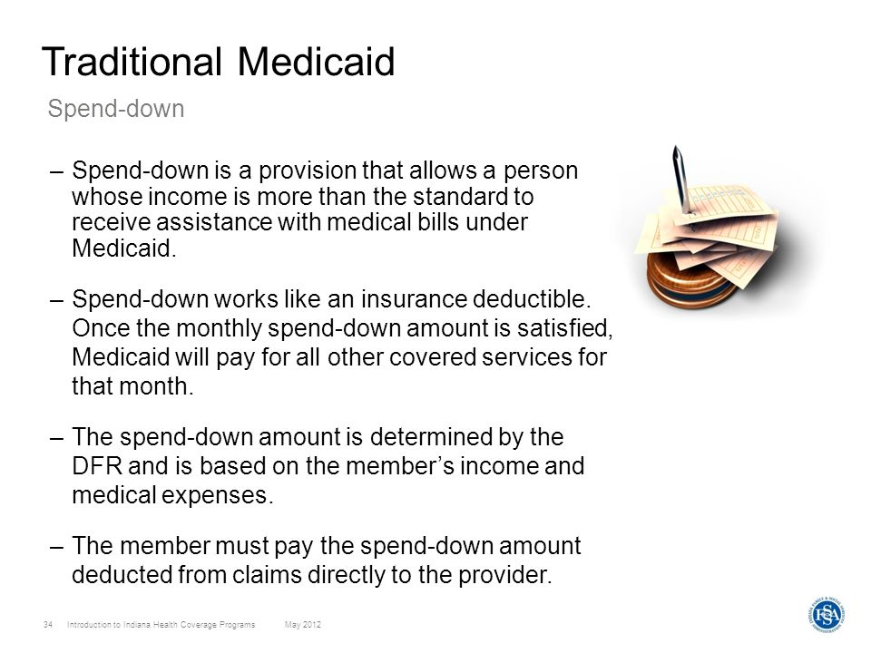 Traditional Medicaid Spend-down
