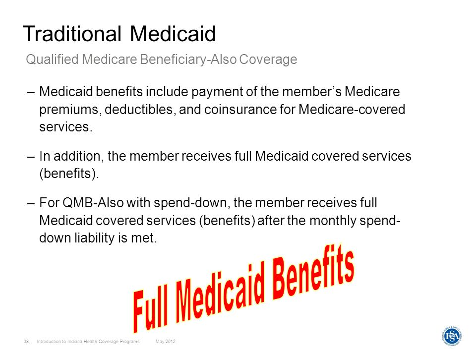 Full Medicaid Benefits