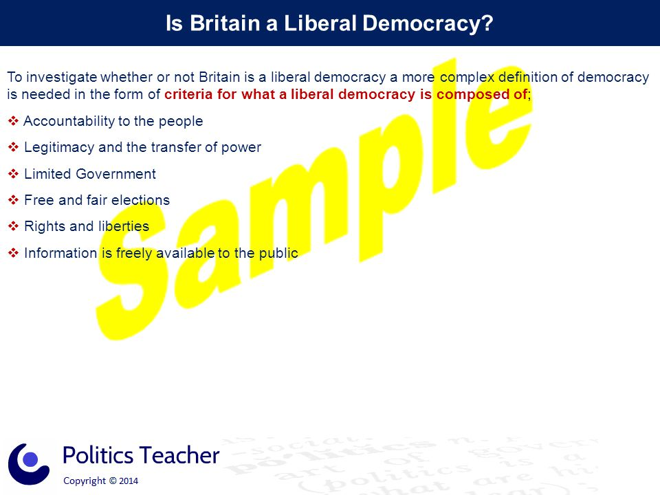 Is Britain a Liberal Democracy