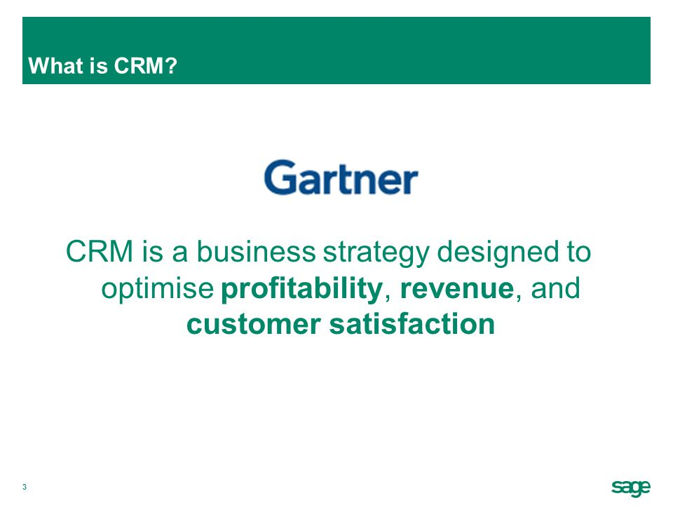 What is CRM CRM is a business strategy designed to optimise profitability, revenue, and customer satisfaction.