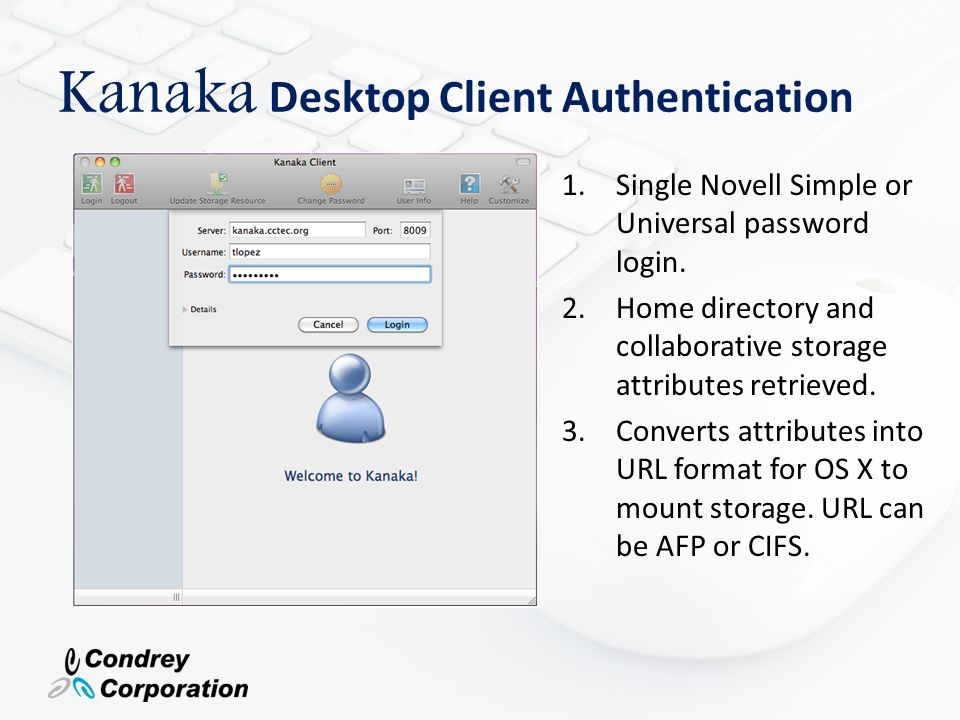 automated single login access to Novell storage resources - ppt