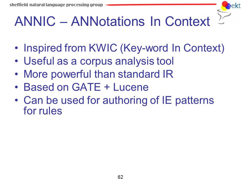 ANNIC – ANNotations In Context