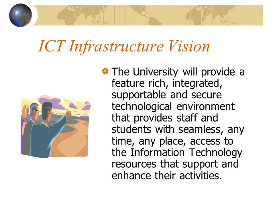 ICT Infrastructure Vision