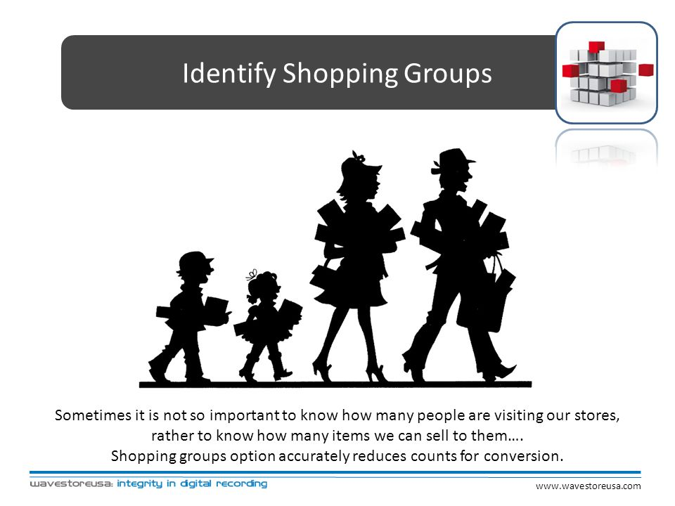 Identify Shopping Groups
