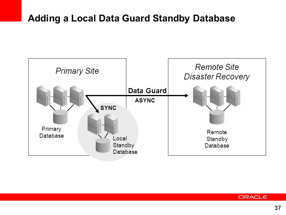 Adding a Local Data Guard Standby Database