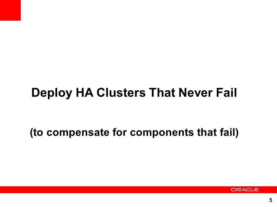 Deploy HA Clusters That Never Fail